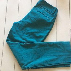 Like new Blue/green ankle dress pants